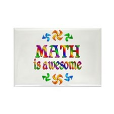 Math is Awesome Rectangle Magnet (100 pack)