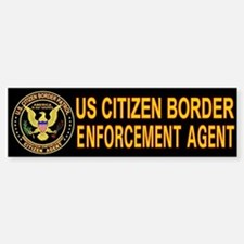 Citizen Border Patrol - Bumper Bumper Bumper Sticker