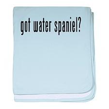 GOT WATER SPANIEL baby blanket