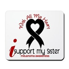 With All My Heart Melanoma Mousepad