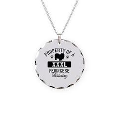 Pekingese Mommy Necklace
