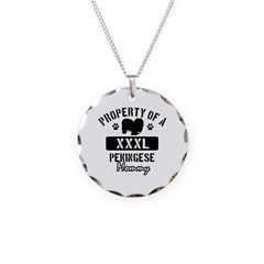 Pekingese Mommy Necklace