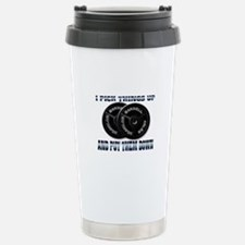 I pick things Stainless Steel Travel Mug