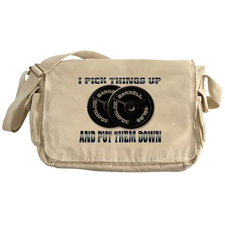 I pick things Messenger Bag