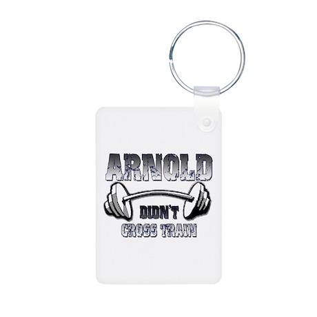 Arnold didn't cross train Aluminum Photo Keychain