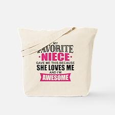 Favorite Niece Tote Bag