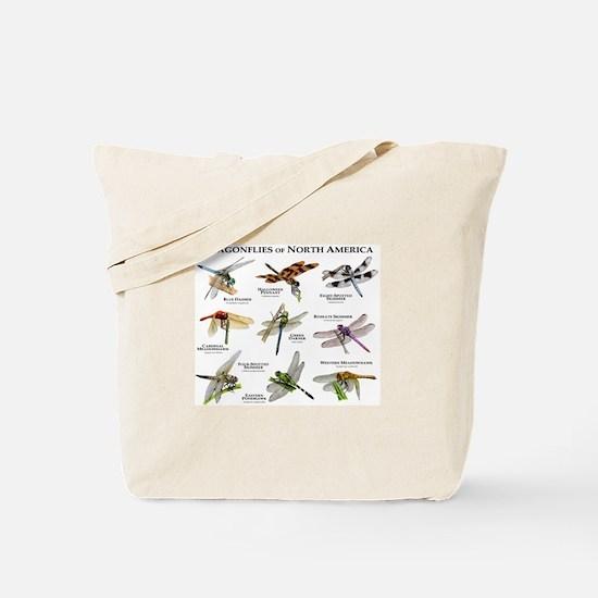 Dragonflies of North America Tote Bag