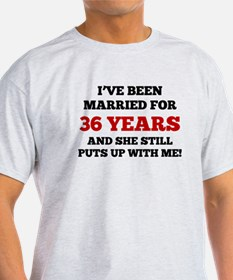 Ive Been Married For 36 Years T-Shirt
