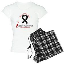 With All My Heart Melanoma Pajamas