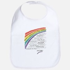 Famous Gays Shirt Bib