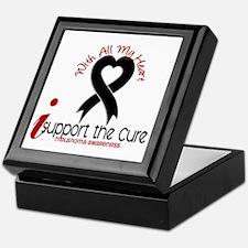 With All My Heart Melanoma Keepsake Box