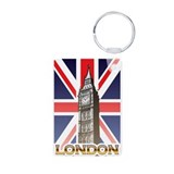 London england Keychains