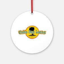 Cabo San Lucas Sun Ornament (Round)