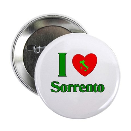 "I Love Sorrento 2.25"" Button (10 pack)"