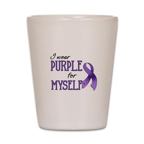 Wear Purple - Myself Shot Glass