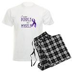 Wear Purple - Myself Men's Light Pajamas