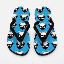 Penguin Bird Flip Flops