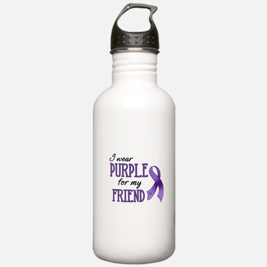 Wear Purple - Friend Water Bottle