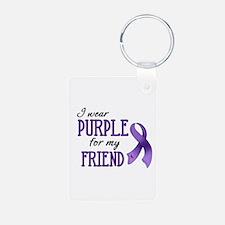 Wear Purple - Friend Keychains