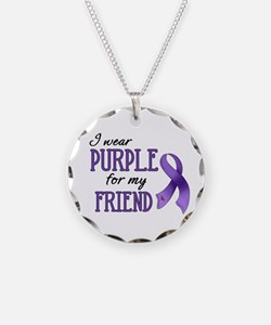 Wear Purple - Friend Necklace