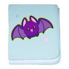 Kawaii Bat baby blanket