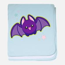 Kawaii Bat baby blanket