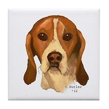 Beagle II Tile Coaster
