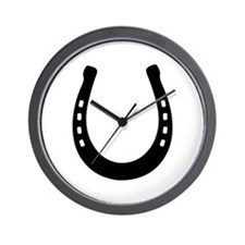 Horseshoe Wall Clock