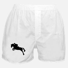 Horse show jumping Boxer Shorts