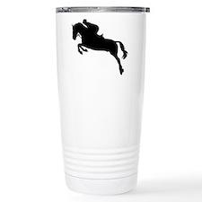 Horse show jumping Travel Coffee Mug