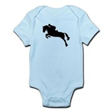 Horse show jumping Infant Bodysuit