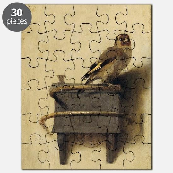 Cute Goldfinch Puzzle