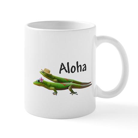 Hawaiian Geckos Aloha Mug