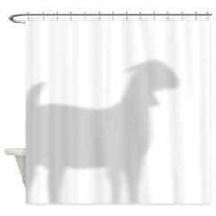 Boer Goat Shower Curtain