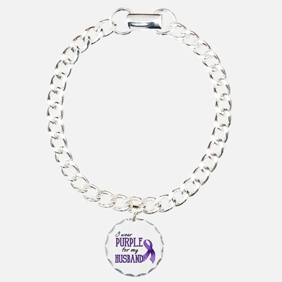 Wear Purple - Husband Bracelet