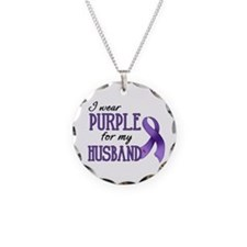 Wear Purple - Husband Necklace