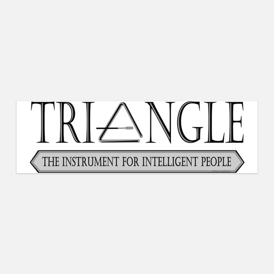 Intelligent Triangle Wall Decal