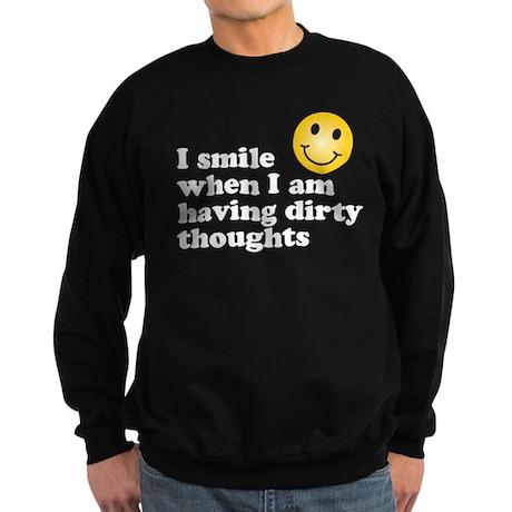 dirty thoughts Sweatshirt (dark)