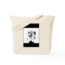 Pose Art Print Tote Bag