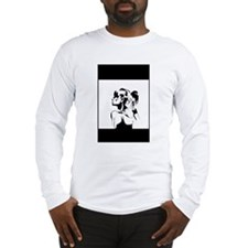 Pose Art Print Long Sleeve T-Shirt
