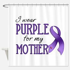 Wear Purple - Mother Shower Curtain