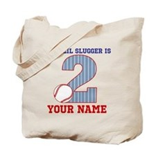 2nd Birthday Baseball Tote Bag