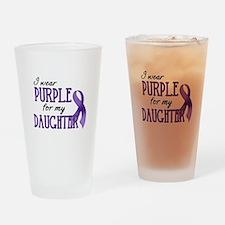 Wear Purple - Daughter Drinking Glass