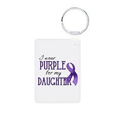 Wear Purple - Daughter Keychains