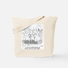 Beaver's Don't Use Kiln Dried Lumber Tote Bag
