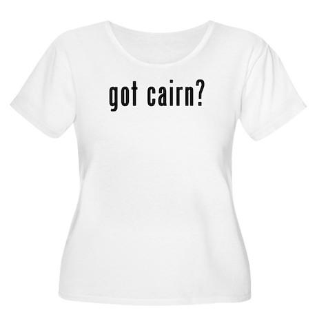 GOT CAIRN Women's Plus Size Scoop Neck T-Shirt