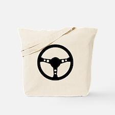 Steering wheel car Tote Bag