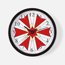 Modernistic Star Wall Clock