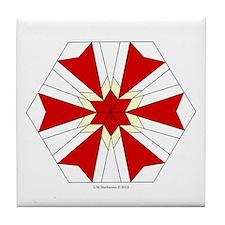 Modernistic Star Tile Coaster