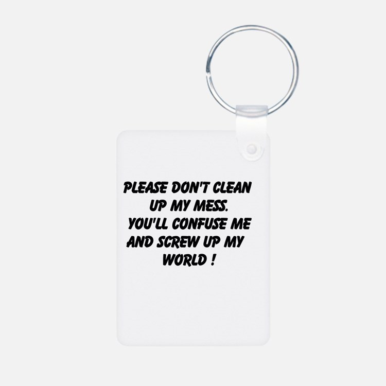 Please Don't Clean Keychains